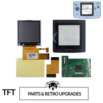 Neo Geo Pocket Color Replacement TFT LCD Kit (v2)