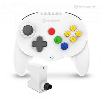 Admiral Premium BT Controller - WHITE (Nintendo 64)