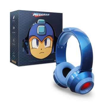 Mega Man Headset - Limited Edition - Blue - Officially Licensed by Capcom