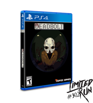 Deadbolt - Limited Run (PlayStation 4)