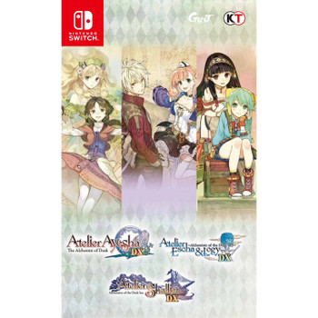 Atelier Dusk Trilogy Deluxe Pack (Nintendo Switch) [ENGLISH MULTI LANGUAGE]