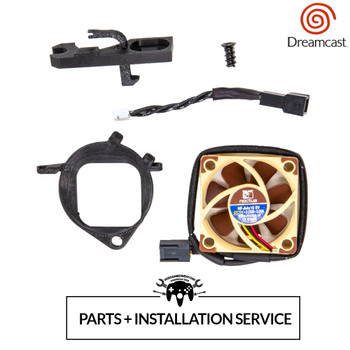 Dreamcast Noctua Fan Mod Installation Service