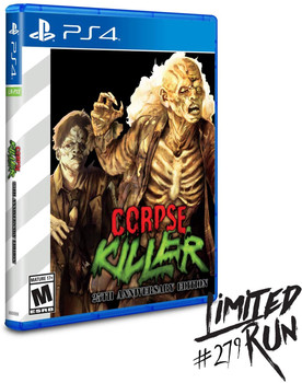 Corpse Killer 25th Anniversary Edition LRP-167 (Playstation 4)