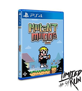 Mutant Mudds Deluxe LRP-31 (Playstation 4)