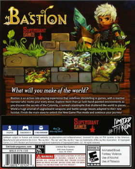 Bastion LRP-107 (Playstation 4)