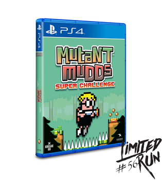 Mutant Mudds Super Challenge LRP-32 (Playstation 4)