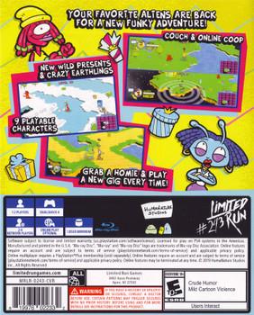 ToeJam & Earl: Back in the Groove LRP-140 (Playstation 4)