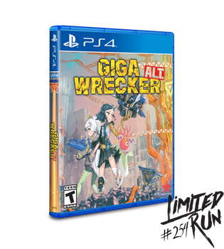 Giga Wrecker LRP-146 (Playstation 4)
