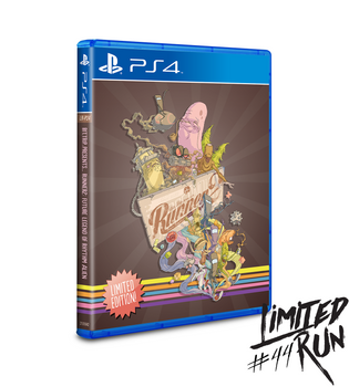 BIT.TRIP Presents... Runner2: Future Legend of Rhythm Alien LRP-24 (Playstation 4)