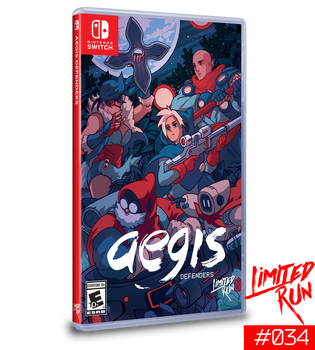Aegis Defender LRS-34 (Nintendo Switch)