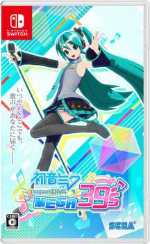 HATSUNE MIKU: PROJECT DIVA MEGA39'S (Nintendo Switch) [JAPAN]
