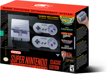 Super NES Classic Edition (SNES Mini)