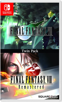 Final Fantasy VII & Final Fantasy VIII REMASTERED - TWIN PACK  (Nintendo Switch) [ENGLISH MULTI LANGUAGE]