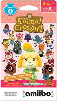 Animal Crossing Amiibo Cards Series 4