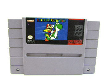 Super Mario World USED (SNES)