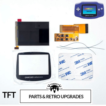 Gameboy Advance IPS LCD Replacement Kit [v2] (GBA)