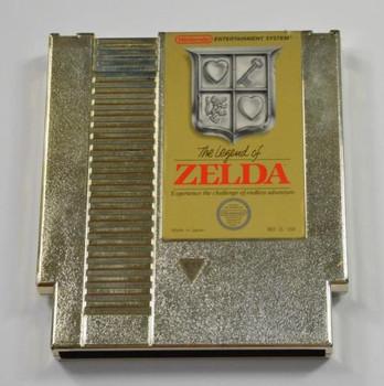The Legend of Zelda USED (Gold) (NES)