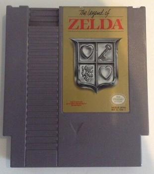 The Legend of Zelda (Gray) USED (NES)