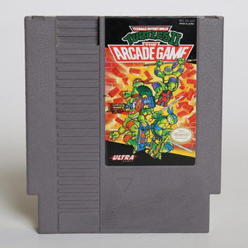 Teenage Mutant Ninja Turtles II: The Arcade Game USED (NES)
