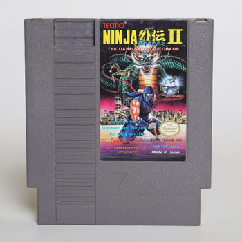 Ninja Gaiden II: The Dark Sword of Chaos USED (NES)