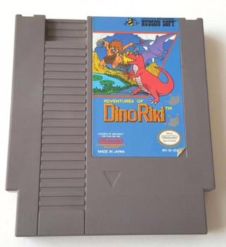 Adventures of Dino Riki USED (NES)