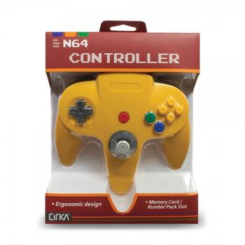 CirKa N64 Controller - Yellow (Nintendo 64)
