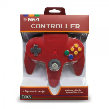 CirKa N64 Controller - Red (Nintendo 64)