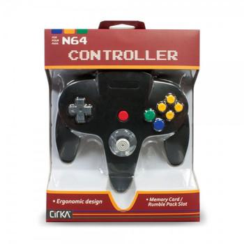 CirKa N64 Controller - Black (Nintendo 64)