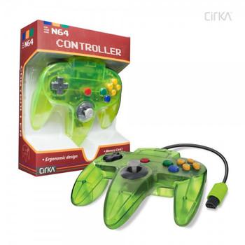 CirKa N64 Controller - Jungle (Nintendo 64)