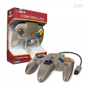 CirKa N64 Controller - Gold (Nintendo 64)