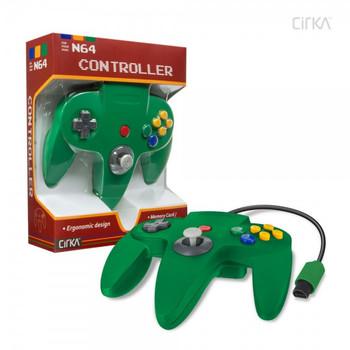 CirKa N64 Controller - Green (Nintendo 64)