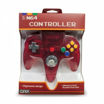 CirKa N64 Controller - Watermelon (Nintendo 64)