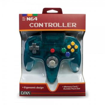 CirKa N64 Controller - Turquoise (Nintendo 64)