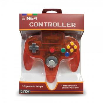 CirKa N64 Controller - Fire (Nintendo 64)