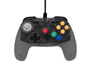 Brawler64 Controller - Smoke Gray (Nintendo 64)