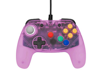 Brawler64 Controller - Purple (Nintendo 64)
