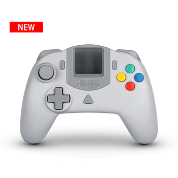 Striker DC Controller - Grey (Sega Dreamcast)