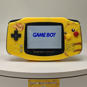 Nintendo GBA w/ IPS LCD [PIKACHU]