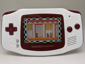 Nintendo GBA w/ IPS LCD [FAMICOM]