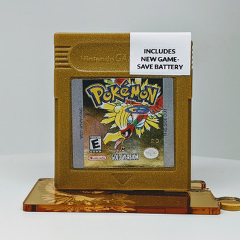 Pokemon Gold Version (Gameboy) USED
