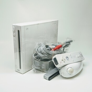 Nintendo Wii Console - White (USA) RVL-101