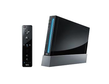 Nintendo Wii Console - Black (USA) RVL-001