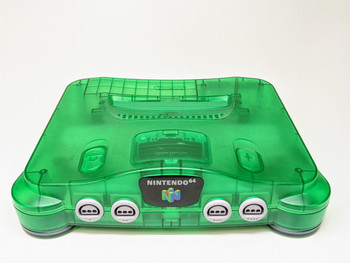 Nintendo 64 System - Clear Green (USA)