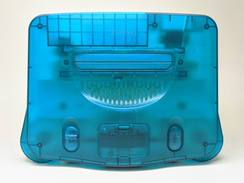 Nintendo 64 System - Clear Blue (USA)