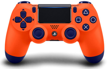 DualShock 4 Wireless Controller - Sunset Orange (PlayStation 4)