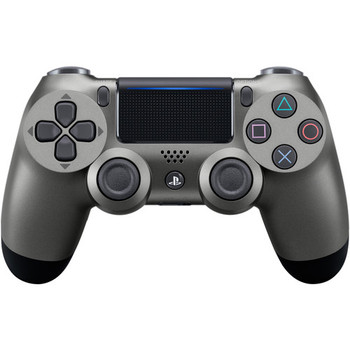 DualShock 4 Wireless Controller - Steel Black (PlayStation 4)