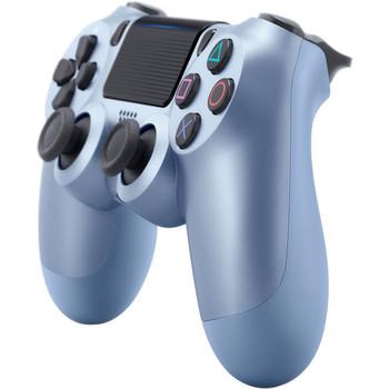 DualShock 4 Wireless Controller - Titanium Blue (PlayStation 4)