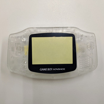 GBA Replacement Shell - IPS PRECUT - Clear White