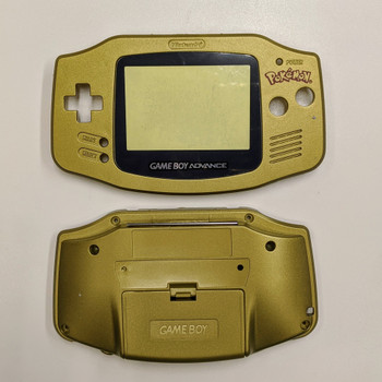 GBA Replacement Shell - IPS PRECUT - Pokemon GOLD
