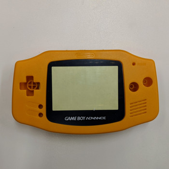 GBA Replacement Shell - IPS PRECUT - Orange